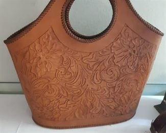 New Old Stock Mexican leather purse