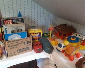 More vintage Fisher Price toys
