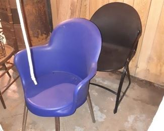 These chairs are new never used really nice condition