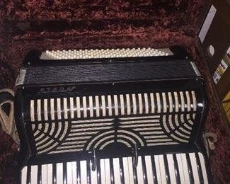 Vintage Noble Italian Accordion