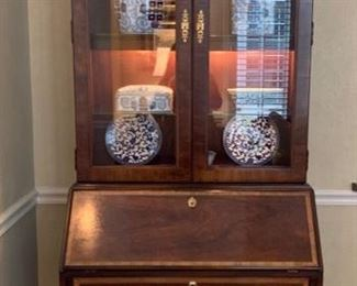 """10. THOMASVILLE SECRETARY (35"""" x 20"""" x 86"""") (ACCESSORIES NOT INCLUDED)"""