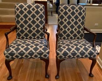 "3. HOST & HOSTESS CHAIRS (26"" x 22"" x 42"") CAN ACCOMPANY DINING ROOM TABLE"