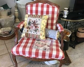 The original chair from July 2002 Creative Home magazine