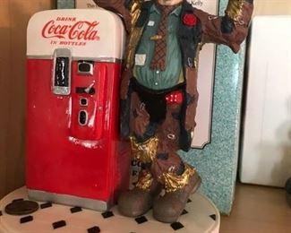 Emmett Kelly and Coke