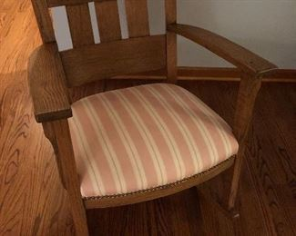 Stickley Style Chair