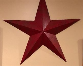 Handcrafted Large Metal Barn Star