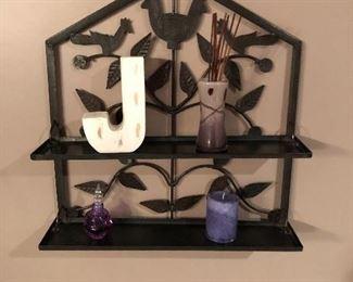 Metal Wall Hanging Shelf