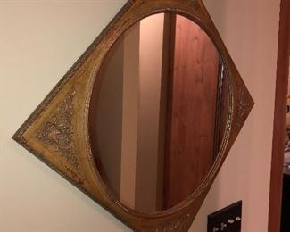 """Terrific Wall Mirror Approximate Size is 30"""" x 30"""""""