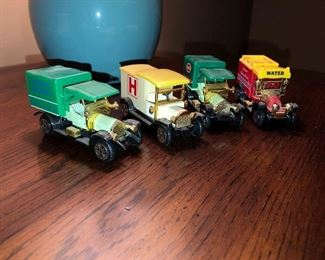 Toy Car Reproductions of Antique cars