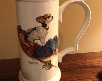 Norman Rockwell Porcelain Mugs