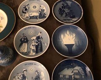Danish Porcelain Plates