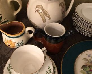 Assorted Stangl and Other China Pieces