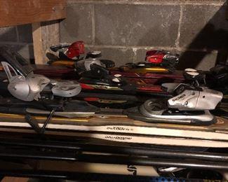Salomon Skis & Bindings  Burton Snowboard  Poles, Goggles & Helmet