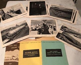 Teachers Manuals and Railroad Photographs