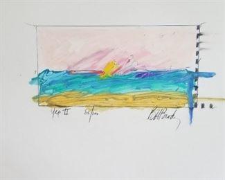 Art Barbara Brody Signed and Numbered Velum