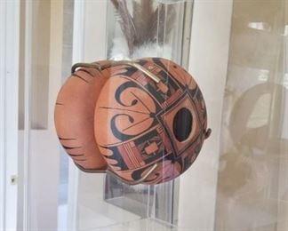 Art Native Pottery Shadowbox