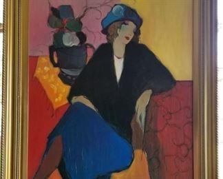 Art Itzchak Tarkay Suzanne