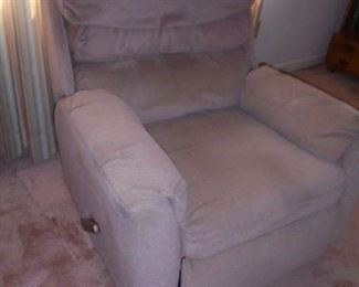 Light brown recliner