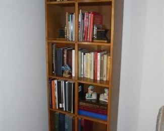1 of 2 matching 7' bookcases