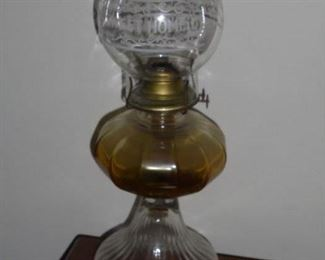 1 of 2 oil lamps