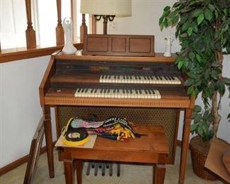 Organ & Bench