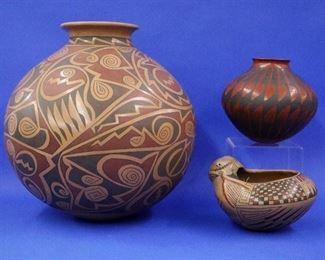 Tarahumara Pottery by Gloria Hdez, Eusebio Sandoval Socorro Sandoval