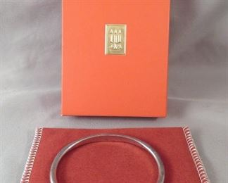 Vintage James Avery Sterling Silver & 14 Gold Cuff Bracelet - STUNNING & CLASSIC!!