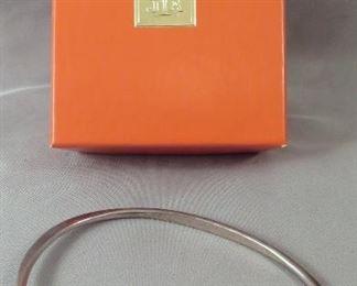 """James Avery Sterling Silver """"Hook On"""" Charm Bracelet"""