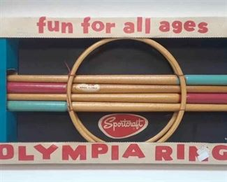 Vintage Olympia Ring Game by Sportcraft NEW IN BOX LA6059 https://www.ebay.com/itm/113759011083