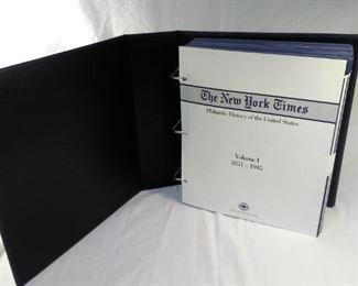 New York Times history of United States stamp covers volume 1 1851 to 1945 https://ctbids.com/#!/description/share/156136