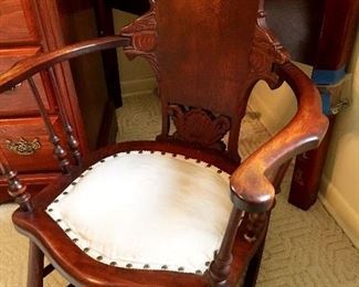 Speaking Of Rocking...Check Out This Stunning Antique Rocker...She's Amazing!...