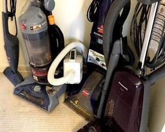 Vacuums and Carpet Cleaners...
