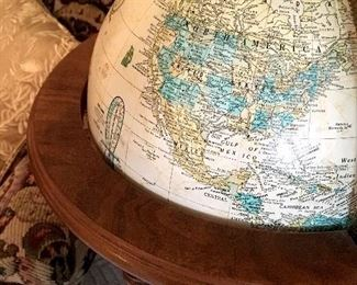 Standing globes...Where Should We Go?...