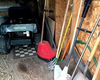 A Craftsmen Riding Mower that Needs A Little Work...She Won't Stay Running...Carb Problem???...