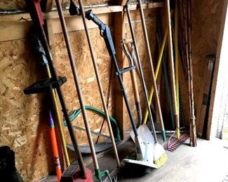 and Garden/Yard Tools...