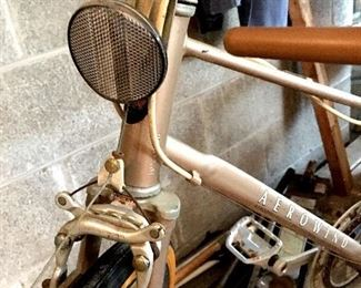 In The Garage is Waiting A Fab Vintage Bike...