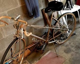 A Gold Huffy Aerowind!...She's Pretty Perfect Too!...