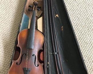 Antonius stradivarius cremonensis faciebat anno 1721 antique violin