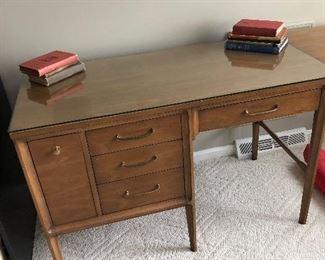 Mid-century modern Broyhill Premier desk with leaf