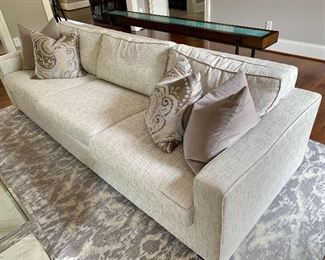 "Elegant yet Comtemporary Mitchell Gold + Bob Williams Alex Collection Sofa. Measures:102""x38""x30"""