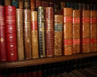 Full of beautiful first edition German books