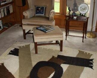 Mid-century modern rug