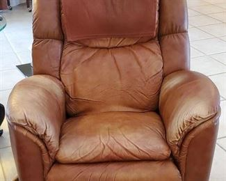 Leather Lazy-boy Recliner