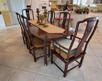 Gorgeous Dining Room Table with 8 Chairs