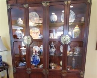Lighted Chinese Hutch