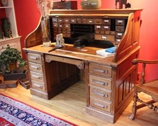 "Macey ""S"" roll top desk"
