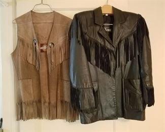 vintage leather jackets, vintage western clothing