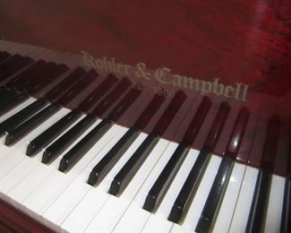 BABY GRAND PIANO BY KOHLER AND CAMPBELL