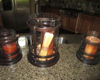 CANDLE CANISTERS