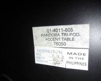 TABLE BY LEXINGTON
